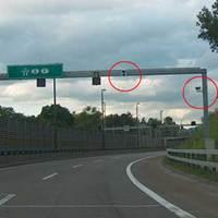 Achtung: 80 Km/h nach der Rechtskurve Richtung D, F,