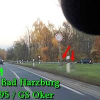 Blitzer zwischen der Abfahrt und Auffahrt GS Immenröder Straße (B 82), 80 kmh. Richtung A 395 / B 4 / GS Oker.