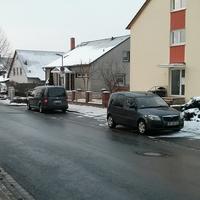 Messstelle am KKH Wolfenbüttel. Heute beide Richtungen mit zwei Messfahrzeugen