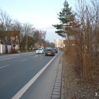Stadteinwärts, Messung vom 8. März 2013.