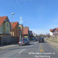 B31   88709 Hagnau Hauptstr.15 > Rtg. Meersburg