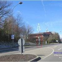 B31  Friedrichshafen Albrechtstr. ~73 => in beide Rtg.