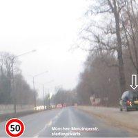 München Menzingerstrasse Stadtauswärts
