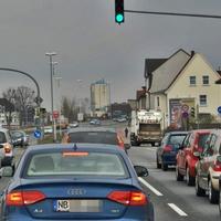 Rotlichtblitzer ständig aktiv, Richtung Innenstadt