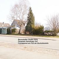 Übersicht in Fahrtrichtung Barmstedt gegenüber der Schule... Temo 30 Bereich