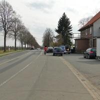 Laser der Polizei am 16.4.13! Rausgeholt wurde einige 100m später an der Ilseder Mühle
