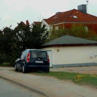 Steinrader Hauptstrasse Fahrtrichtung Stockelsdorf Tempo 30 Km/h Zone