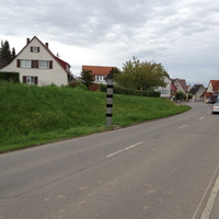 Blitzer beidseitig Ortseingang Seebronn aus Richtung Bondorf