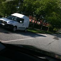 Weißer Kastenwagen!