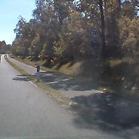 Anfahrt aus Richtung Wolterdingen am Heidepark vorbei Kichtung Kreisel...