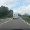 In Fahrtrichtung Tuningen. Auf der Gegenseite an der Leitplanke erkennbar ein zweites Gerät in FR Tuttlingen.  Es standen auch zwei Fahrzeuge links hinter den Büschen.