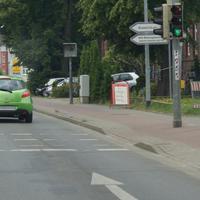 Wolgaster-Str. Richtung Stadt