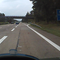 Noch ein paar Bilder meiner DVR-Cam von der Anfahrt aus beiden Richtungen... Aus Richtung Süden.