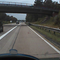 Noch ein paar Bilder meiner DVR-Cam von der Anfahrt aus beiden Richtungen... Aus Richtung Norden.