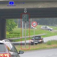 In Fahrtrichtung stadteinwärts Messgerät:  Eine Variante von Traffic .....