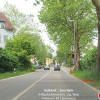 Nußdorf Rtg. westen; stadteinwärts