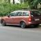 der Opel mit neuem Kennzeichen: PE T 189, einwärts fahrend