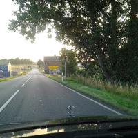 Permanent Blitzer B 104, Abzweig Groß Roge in Richtung Güstrow, 80iger Zone
