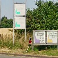Geschwindigkeitsmessung auf Lichtbasis - keine Radarstrahlen
