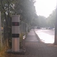 Neuer, aktives Radar, Fahrtrichtung Schule Oberau
