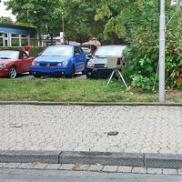 Blitzer in Goslar auf der Kösliner Straße. Von der Aral Tankstelle in Richtung Krankenhaus. in höhe von dem Kindergarten externes Blitzgeräts. Dazu gehört ein silberner VW Caddy (GS-FB-211). 30 kmh.