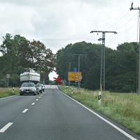 aktiver Fester Blitzer Griebenow in Richtung Greifswald 50 KmH