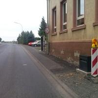 Foto des Blitzers, welcher in Fahrtrichtung Echzell steht. In der Gegenrichtung wurde kürzlich auch ein fester Blitzer aufgestellt.