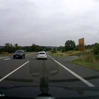 Anfahrt von der A7 in Richtung Goslar.