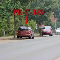 Bortfeld am OE aus Wendeburg kommend. In höhe vom Sportplatz. Rostbraun Roter Opel Astra Kombi (PE-T-189) gegenseitig geparkt in den Parklücken. 50 kmh.