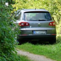 Der im Seitenweg gut versteckte Meßwagen