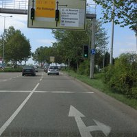 Anfahrt aus Waiblingen FR Fellbach