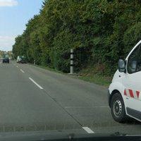 stationäre PSS, wurde heute installiert. Achtung! Neu: 50 statt 60 Km/h!