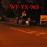 Nachtblitzer, mal wieder der graue VW Caddy Maxi (WF-YX-963), Neuer Weg, in höhe vom Krankenhaus, stadteinwärts. 50 kmh.