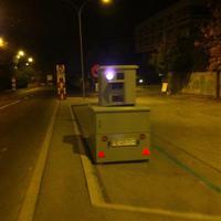 Mobiler Blitz-Wagen der in beide Richtungen Blitzt!!!!