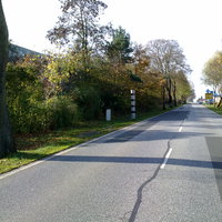 Hier mal ein Update, Parchim hat mit Poliscan aufgerüstet deshalb beidseitige Messung Ansicht: stadtauswärts Richtung Spornitz