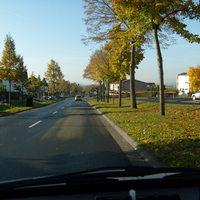 Aus Richtung Emsdorf Stadteinwärts
