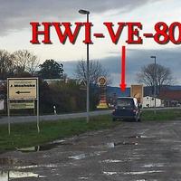 Blitzer am OE Derenburg, blauer VW Caddy (HWI-VE-80) auf der Wernigeröder Straße, in höhe der Shell Tankstelle, auf der rechten Seite. 50 kmh.