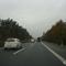 Im Hintergrund lässt sich das Ankündungszeichen auf die Anschlussstelle Bamberg-Süd erahnen. Wir nähern uns damit einem sehr häufigen Messpunkt. Zahlreiche weitere Kontrollstellen entlang der A 73 sind unter www.messstellen.info erfasst!