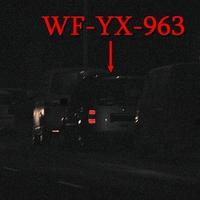 Blitzer auf der Halchterschen Straße, stadteinwärts, auf der rechten Seite in dem Parkstreifen,  steht der graue VW Caddy Maxi (WF-YX-963), zwischen zwei hohen Autos. 50 kmh.