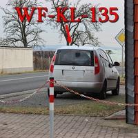 Silberner Skoda Roomster (WF-KL-135) in höhe WF Fümmelse auf der L 614 in Richtung Wolfenbüttel Stadt, in der kurzen 50iger Zone.