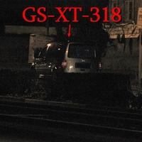 Kurz nach der Brauerei Wolters an der Lidfasssäule auf der rechten Seite vor dem Abzweig Riedestraße. Grauer VW Caddy Maxi (GS-XT-318). 50 kmh.