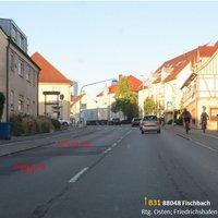 ID 54285 Fischbach Meersburger Str.  FRtg. Osten; Friedrichshafen.