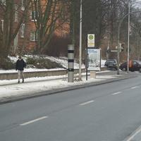 Permanent Blitzer Rostock Hamburger Strasse, zwei Fotos aus Richtung Warnowufer kommend, drei Fotos aus Richtung Doberan kommend.