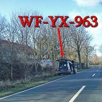 Zwischen Sickte und Salzdahlum in der 50iger Zone Richtung Salzdahlum auf der linken Seite, grauer VW Caddy Maxi (WF-YX-963).