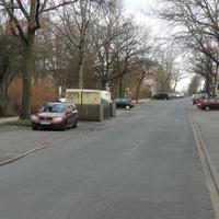roter Opel (PE BK 437) am Eulenring Rtg Süden fahrend