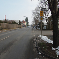 Wir verlassen Zirndorf in Richtung Verbindungsstraße West. Messdatum: 31.01.2014