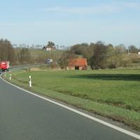 Lasermessung, heute für Fahrtrichtung Norden (Schweinfurt)