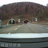 fahrtrichtung biel linke seite nach tunnel