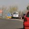 Als Hilfestellung, die Messungen vielleicht doch zu bemerken, hier die Parkposition des Messfahrzeuges (silberner VW Caddy, amtl. Kennzeichen DN-KR 1013)