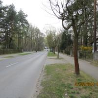 hellblauer VW Caddy  OHV ZS 987 Glienicker Str./ Elsternsteg blitzt in Fahrtrichtung Glienicke7Nordbahn